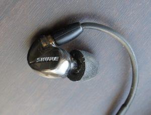 SHURE イヤホン「SE535」